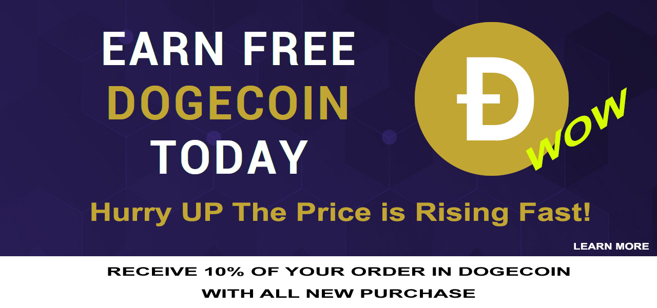 EARNED FREE DOGECOIN GIVEAWAY