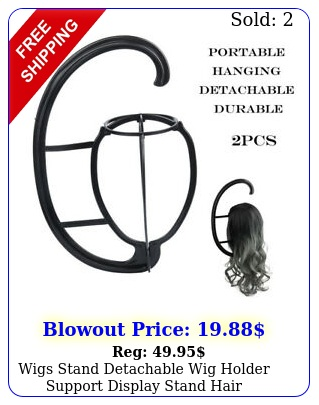 wigs stand detachable wig holder support display stand hair accessories pc