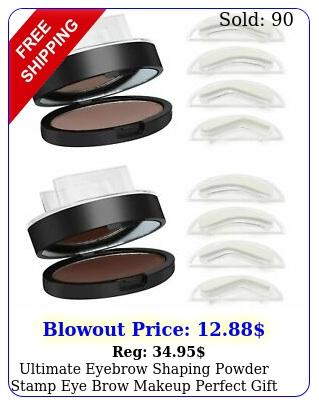 ultimate eyebrow shaping powder stamp eye brow makeup perfect gif