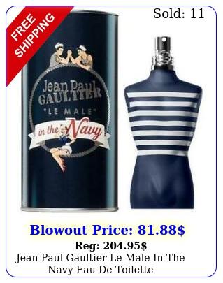 jean paul gaultier le male in the navy eau de toilett