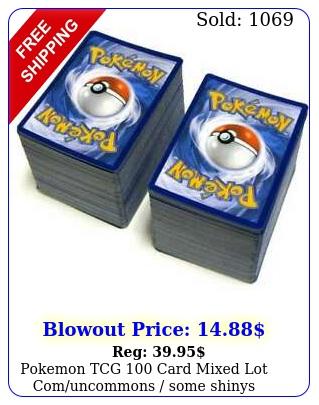 pokemon tcg card mixed lot comuncommons some shinys include