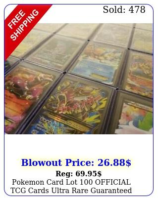 pokemon card lot official tcg cards ultra rare guaranteed gx ex v mega holo