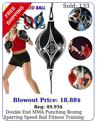 double end mma punching boxing sparring speed ball fitness training equipment u