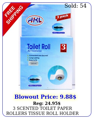 scented toilet paper rollers tissue roll holder replacement spindle bathroo