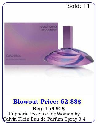 euphoria essence women by calvin klein eau de parfum spray oz in bo