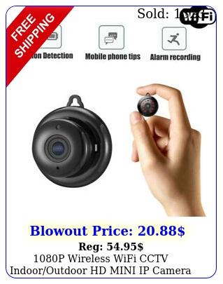 p wireless wifi cctv indooroutdoor hd mini ip camera cam home security i