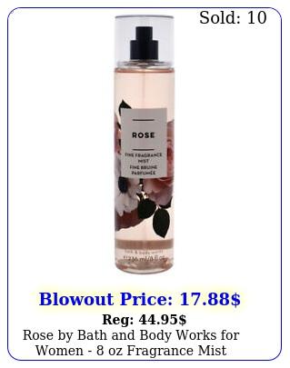 rose by bath body works women  oz fragrance mis