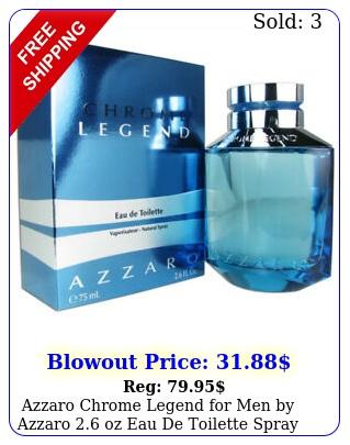 azzaro chrome legend men by azzaro oz eau de toilette spra