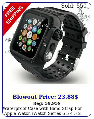 waterproof case with band strap apple watch iwatch series    s
