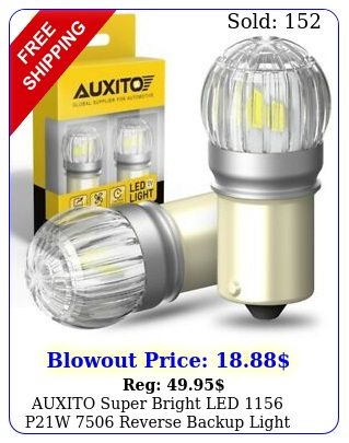 auxito super bright led pw reverse backup light white bulb k u