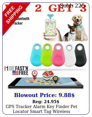 gps tracker alarm key finder pet locator smart tag wireless bluetooth anti los