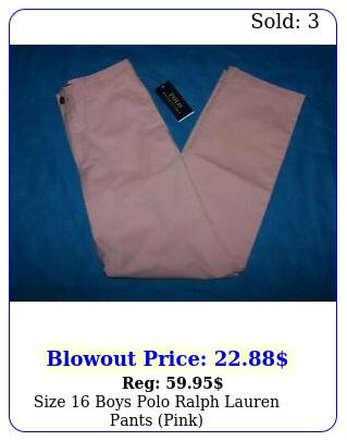 size  boys polo ralph lauren pants pin
