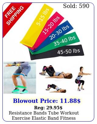 resistance bands tube workout exercise elastic band fitness equipment yoga u