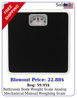 bathroom body weight scale analog mechanical manual weighing scale rotating dia