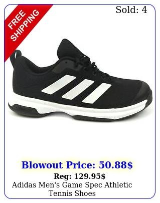 adidas men's game spec athletic tennis shoe