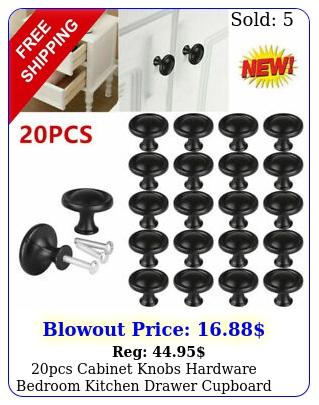 pcs cabinet knobs hardware bedroom kitchen drawer cupboard handle pulls blac