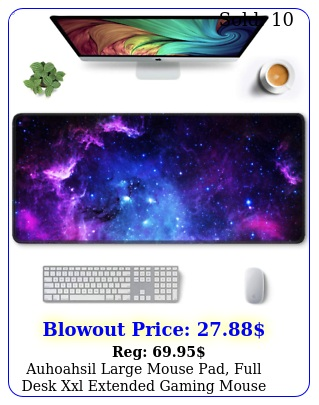 auhoahsil large mouse pad full desk xxl extended gaming mouse pad x w