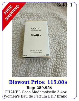 chanel coco mademoiselle oz women's eau de parfum edp brand seale