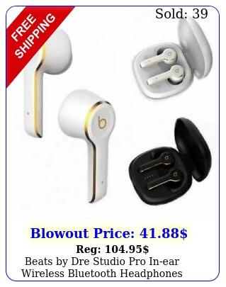 beats by dre studio pro inear wireless bluetooth headphones earbuds earphone
