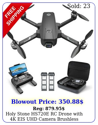 holy stone hse rc drone with k eis uhd camera brushless quadcopter batter