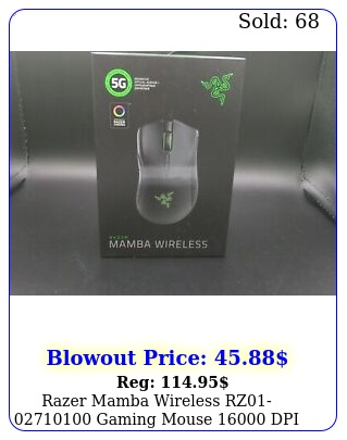 razer mamba wireless rz gaming mouse dpi chroma rgb brand ne