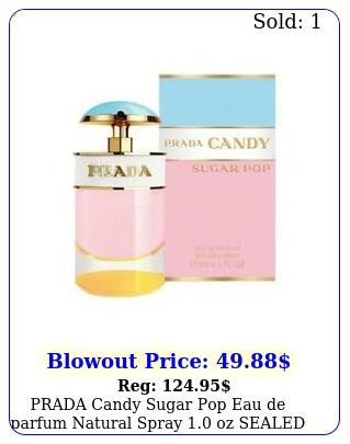 prada candy sugar pop eau de parfum natural spray oz sealed women's perfum