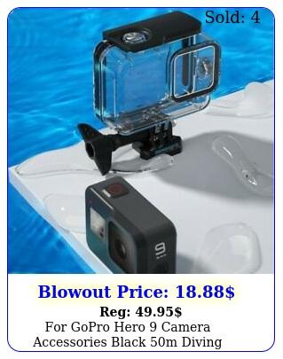 gopro hero camera accessories black m diving waterproof housing case us