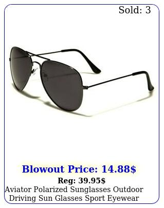 aviator polarized sunglasses outdoor driving sun glasses sport eyewear men