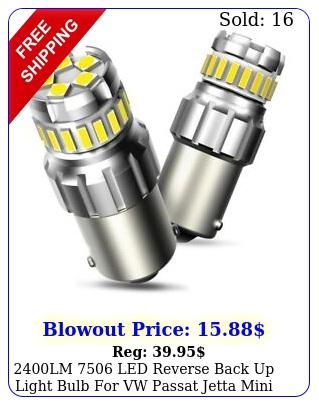 lm led reverse back up light bulb vw passat jetta mini cooper