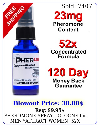 pheromone spray cologne men attract women x new androstenon