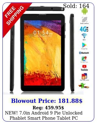 new in android pie unlocked phablet smart phone tablet pc att tmobil