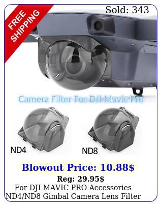 dji mavic pro accessories ndnd gimbal camera lens filter cover hood ki