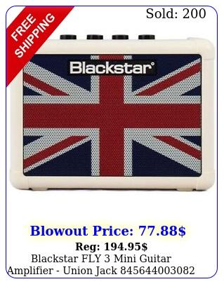 blackstar fly mini guitar amplifier union jac