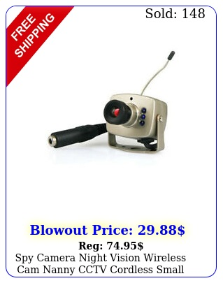 spy camera night vision wireless cam nanny cctv cordless small ca