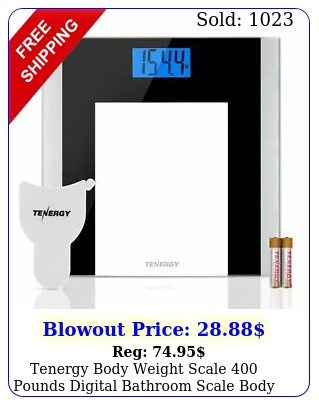 tenergy body weight scale pounds digital bathroom scale body measuring tap