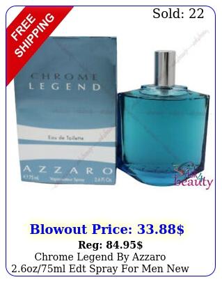 chrome legend by azzaro ozml edt spray men i