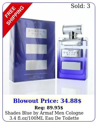 shades blue by armaf men cologne flozml eau de toilette spray brand ne