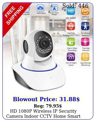 hd p wireless ip security camera indoor cctv home smart wifi baby monitor u
