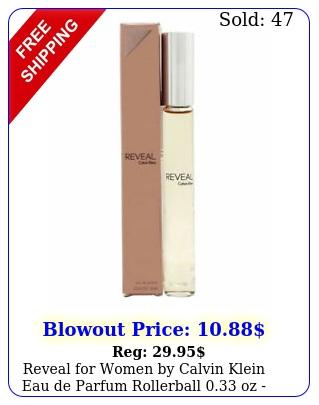 reveal women by calvin klein eau de parfum rollerball oz i