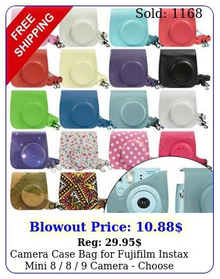 camera case bag fujifilm instax mini    camera choose colordesig