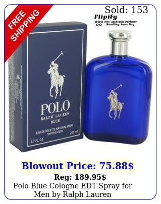 polo blue cologne edt spray men by ralph laure