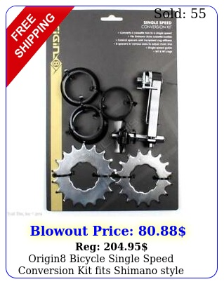 origin bicycle single speed conversion kit fits shimano style cassette bodie