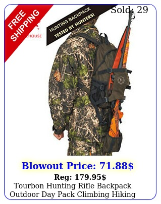 tourbon hunting rifle backpack outdoor day pack climbing hiking camping gear ba