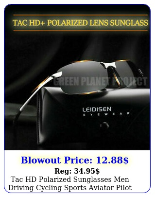 tac hd polarized sunglasses men driving cycling sports aviator pilot sun glasse