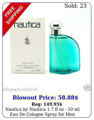 nautica by nautica fl oz  ml eau de cologne spray me