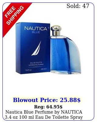 nautica blue perfume by nautica oz ml eau de toilette spray me