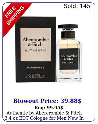 authentic by abercrombie fitch oz edt cologne men i