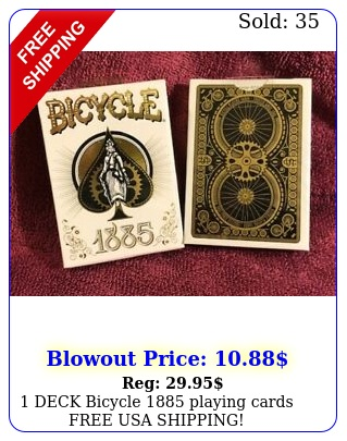 deck bicycle playing cards free usa shippin