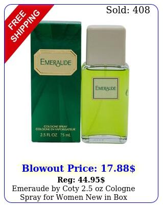 emeraude by coty oz cologne spray women i