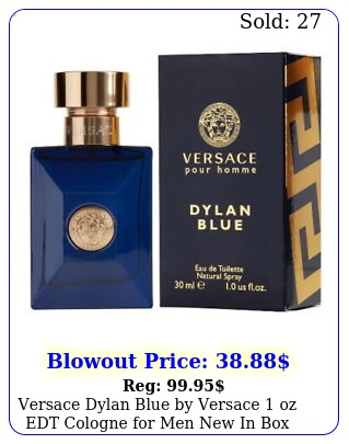 versace dylan blue by versace oz edt cologne men in bo